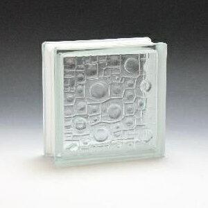 ガラスブロック 190×190×80 ガラスブロック レイン KOGB-026 ガラス 外壁 壁材 エクステリア