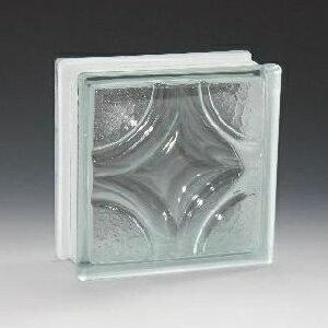 ガラスブロック 190×190×80 ガラスブロック クリスタンティック KOGB021 ガラス 外壁 壁材 エクステリア