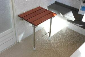 折りたたみ 椅子 イス 浴室用椅子 風呂イス シャワーチェア 木製 壁付け椅子 介護用椅子 子供用いす 補助椅子 浴室 玄関 折りたたみ式 椅子(イス) KOC-F7