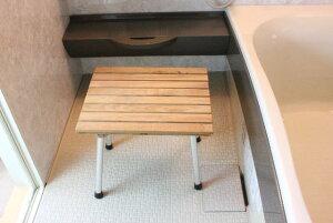 折りたたみ 椅子 イス 浴室用椅子 風呂イス シャワーチェア 木製 壁付け椅子 介護用椅子 子供用いす 補助椅子 浴室 玄関 折りたたみ式 椅子(イス) KOC-BB3 ポータブル