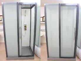 シャワールーム シャワーユニット シャワーブース ガラス 置き型 バスタブ KOA-140