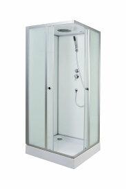 シャワールーム シャワーユニット シャワーブース ガラス 置き型 バスタブ KOA-45n