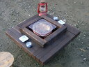 七輪付き囲炉裏テーブル「IRORI」