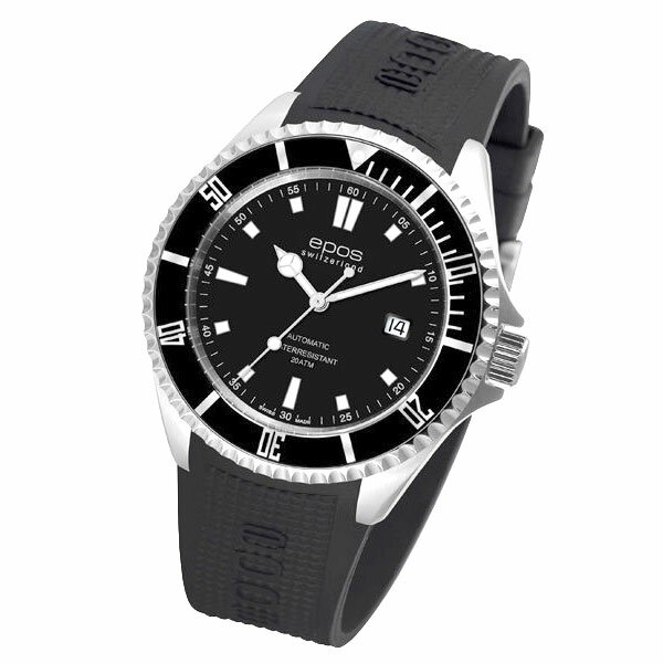 EPOS SPORTIVE エポス スポーティブ 3396SBKR 自動巻 ダイバーズ メンズ腕時計 国内正規品 送料無料 メーカー正規2年間保証付