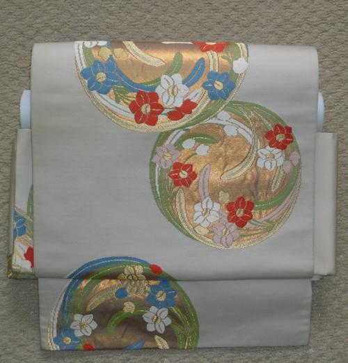 袋帯二重太鼓、早く簡単に結べる、ノーカット作り帯。帯を切らずに付け帯に、お仕立て加工賜ります。とにかくお忙しい方に。