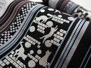 [お仕立て上がり帯] 博多帯 黒木織物 謹製 本場筑前博多織 猫と足あと(黒)金印 八寸 名古屋帯 正絹 日本製【帯専門…
