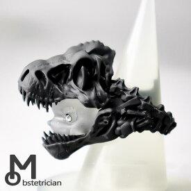"""【猫に恐竜""""ティラノサウルス"""" / Cat in Dinosaur """"Tyrannosaurus"""" Ring】キャットインダイナソー""""ティラノサウルス""""リング"""