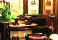 仏壇ミニ仏壇モダン仏壇ヴィオラ18号紫檀鏡面仕上げ仏具一式セット全宗派対応送料無料
