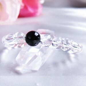 ブレスレット 黒水晶 モリオン 4A 10mm 水晶 8mm パワーストーン 天然石 レディース メンズ 父の日