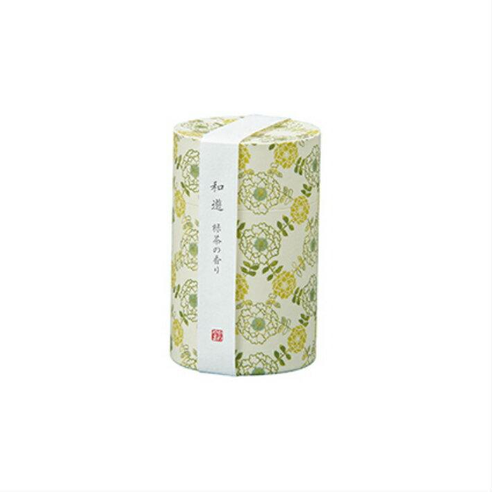 【清々しくも香ばしい緑茶の香り】和遊 緑茶【線香 お線香 高級線香 カメヤマローソク ギフト 贈答用 高級】