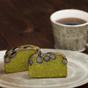 パウンドケーキ 抹茶と黒豆