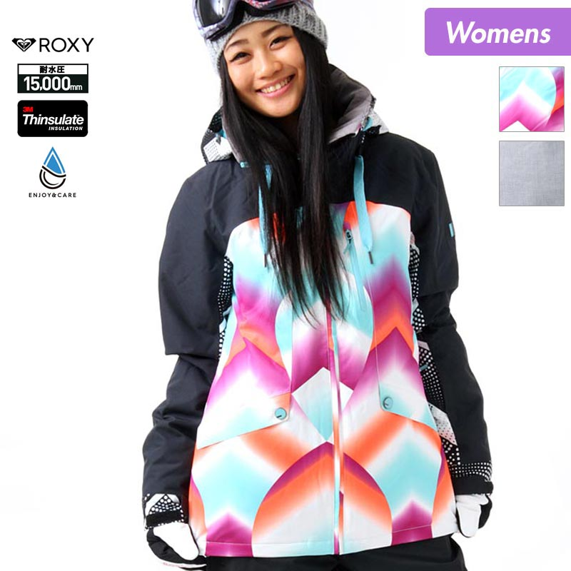 店内全品10%OFF スノーボードウェア スキーウェア ロキシー ROXY レディース ボードウェア ジャケット ERJTJ03067 スノージャケット スノボウェア スノボーウェア 上 スノーウェア ウエア 女性用