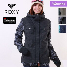 ロキシー スノーボードウェア スキーウェア ボードウェア ROXY レディース ジャケット ERJTJ03113 スノーウェア スノボウェア スノボーウェア ウエア スノージャケット 上 女性用 おしゃれ 人気 かわいい