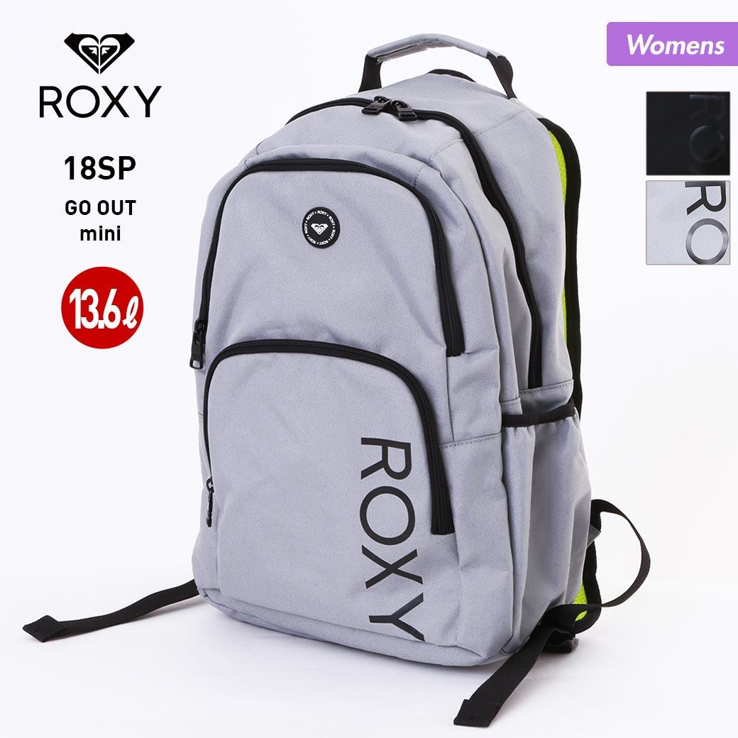 ROXY/ロキシー レディース 13.6L バックパック RBG182301 デイパック リュックサック バッグ ゴーアウトミニ かばん 通勤 通学 女性用 おしゃれ 人気 かわいい