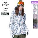 【キャッシュレス5%還元】 ROXY ロキシー レディース スノーボードウェア ジャケット ERJTJ03180 スノーウェア スキ…