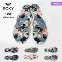 ROXY/ロキシー レディース ビーチサンダル ARJL100668 ビーサン さんだる ペタサンダル 花柄 海水浴 プール 女性用 人気