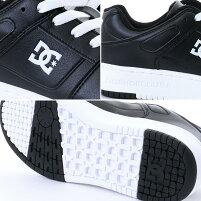 DCSHOES/ディーシーメンズシューズDM181602スニーカー靴くつ黒色ブラック白色ホワイト赤色レッド男性用