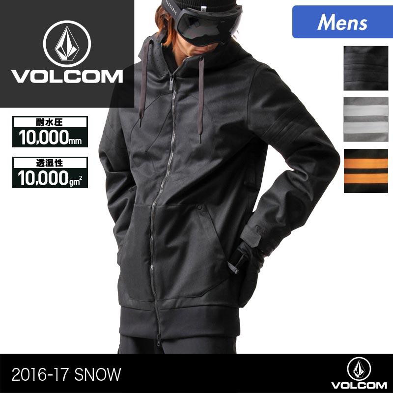 VOLCOM/ボルコム メンズ スノーボード ウェア ジャケット G0651708 スノーウェア スノボウェア ウエア スノージャケット 上 男性用