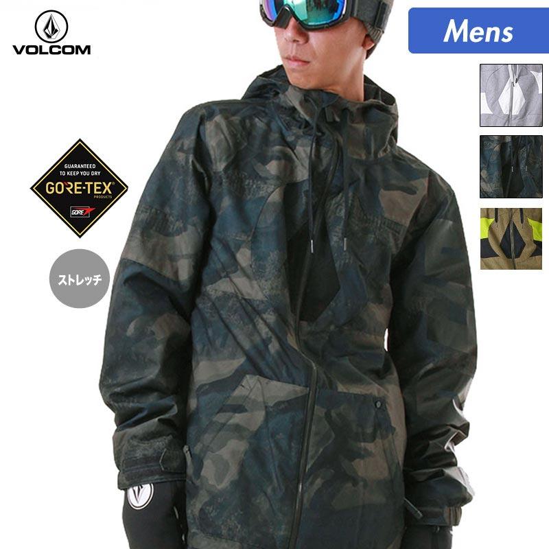 VOLCOM/ボルコム メンズ スノーボードウェア ジャケット G0651808 スノーウェア スノボウェア スキーウェア スノボーウェア ウエア スノージャケット 上 男性用 人気