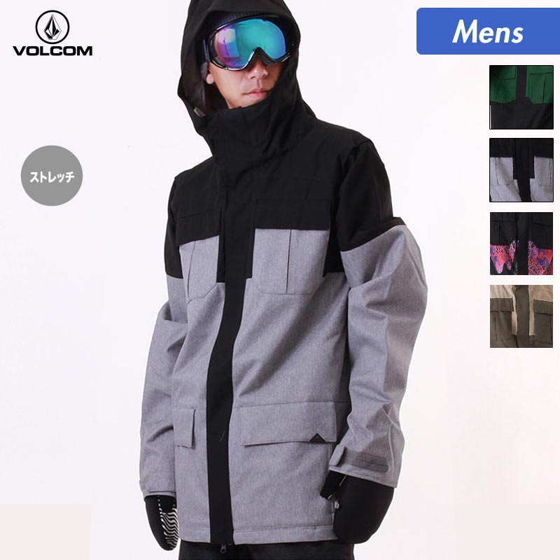 VOLCOM/ボルコム メンズ スノーボードウェア ジャケット G0651811 スノーウェア スノボウェア スキーウェア スノボーウェア ウエア スノージャケット 上 男性用 人気