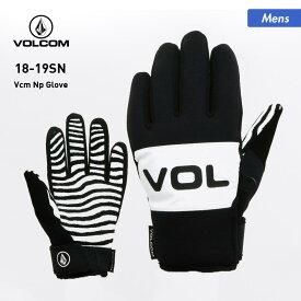 全品割引券配布中 VOLCOM/ボルコム メンズ スノーボード グローブ J68519JC スノーグローブ スキーグローブ 手袋 てぶくろ 手ぶくろ 防寒 スノボ 五本指 男性用