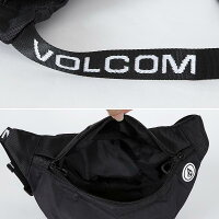 VOLCOM/ボルコムメンズウエストバッグD65319JBウエストポーチ小物入れアウトドアフェスボディバッグ男性用