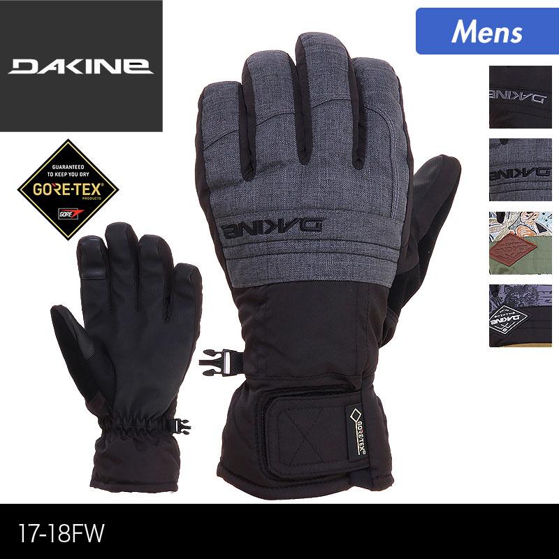 DAKINE/ダカイン メンズ GORE- TEX スノーボード グローブ AH237-710 スノーグローブ 五本指 ゴアテックス 手袋 手ぶくろ てぶくろ 防寒 スキー スノボ 男性用