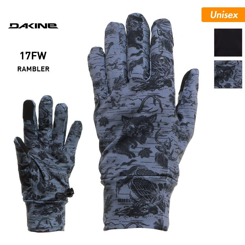 DAKINE/ダカイン メンズ&レディース 5本指 インナー グローブ AH237-741 スノーグローブ 手ぶくろ 手袋 てぶくろ スノボ スキー 男性用 女性用