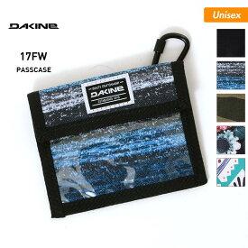 DAKINE/ダカイン メンズ&レディース パスケース AH237-090 小銭入れ ウォレット カラビナ付き 財布 スノーボード スノボ スキー 男性用 女性用