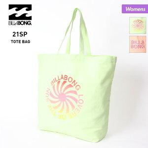 BILLABONG/ビラボン レディース トートバッグ BB013-922 かばん 鞄 ショルダーバッグ コットン キャンバス アウトドア 女性用