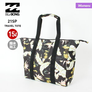 BILLABONG/ビラボン レディース トートバッグ BB013-925 かばん 鞄 ショルダーバッグ 31L 撥水加工 アウトドア 女性用