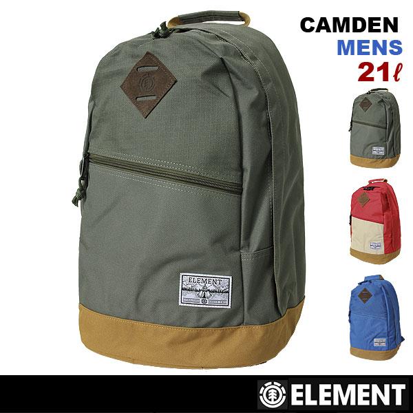 全品最大P10倍 ELEMENT/エレメント メンズ 21L リュックサック バッグ デイパック バックパック かばん