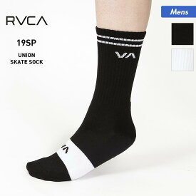RVCA/ルーカ メンズ 靴下 AJ041-943 ソックス インナー ロングソックス 男性用