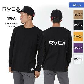 RVCA/ルーカ メンズ ロングTシャツ AJ042-055 長袖 ティーシャツ ロンT トップス ロゴ バックプリント 男性用