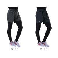 PONTAPES/ポンタペスメンズ&レディースランニングミドルパンツPRP-7750スポーツウェアフィットネスウェア短パンジョギングマラソン男性用女性用