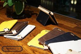 新着!【代引き不可】【数量限定】【送料無料】iPhone 6用 レザーケース Back Case Leather n.max.n スマホケース