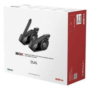 新着!!【送料無料】【メーカー取寄品】SENA (セナ)バイク用インカム Bluetooth インターコム 30K-01D 30Kデュアルパック インカム2個セット 通信機器