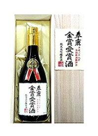 平成28年、春鹿 【金賞受賞酒】純米大吟醸720ML