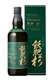 井上酒造 飫肥杉(オビスギ)原酒(38度)芋焼酎、720ml