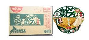 北海道限定 日清 どん兵衛 きつねうどん・95g 12個入り 1箱