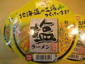 北海道限定  マルちゃん塩ラーメン・72g 12個入り 1箱