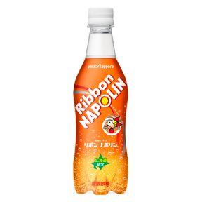 サッポロ飲料「リボンナポリン」450mLPET×24本入り
