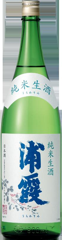 浦霞 純米生酒 720ML【クール便必要】