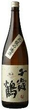 【北海道の地酒】千歳鶴 「純米・札幌の地酒」1.8L 」 1.8L