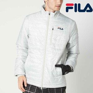 FILA GOLF 薄中綿 ブルゾン トップスジャケット メンズ ゴルフ 秋冬