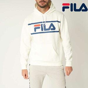 FILA GOLF スウェットパーカーフロントロゴ UV 保温 ブルゾン メンズ 秋冬