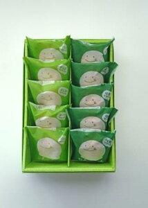 もちもちシューちゃん2種(抹茶・ずんだ)10ヶ入【シュークリーム かわいい 個包装 小分け 冷凍 洋菓子 お菓子 枝豆 抹茶 お取り寄せグルメ スイーツ 高級 仙台 宮城 老舗 お返し 内祝い 出