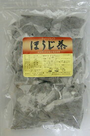 日本茶 ティーバッグ 粉茶テトラティーパツク(やかん用)ほうじ茶30個入り