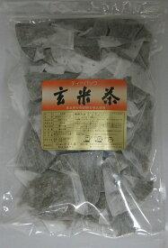 日本茶 ティーバッグ粉茶テトラティーパック (やかん用) 玄米茶30個入り