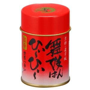 激辛を超えた狂辛七味【舞妓はんひぃ〜ひぃ〜 七味唐辛子・缶】 国産ハバネロ・本鷹唐辛子をブレンド、辛い中に山椒を感じる京都生まれの七味です。 京都 舞妓はんひーひー 激辛 スパ